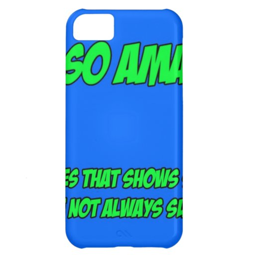Not So Amazing Cover For iPhone 5C