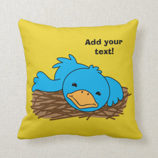 Not So Early Bird Cushion