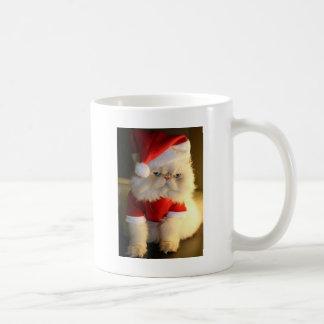 Not So Jolly Santa Cat Coffee Mugs