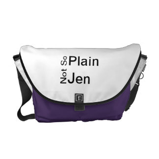 Not So Plain Jen Bag Messenger Bags