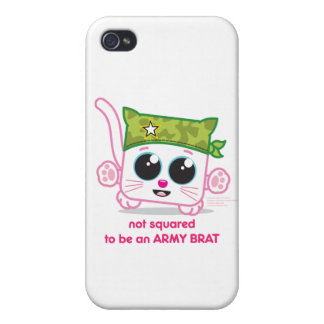 Not Squared to be an Army Brat iPhone 4/4S Cover