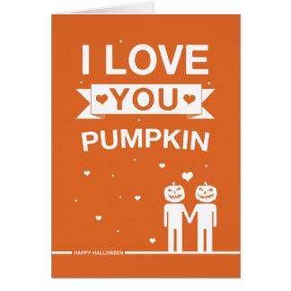 Not Straight Design Halloween Card