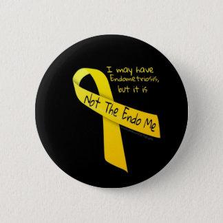 Not The Endo Me 'Button' Endometriosis 6 Cm Round Badge