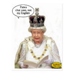 Not the Queen's English Post Cards