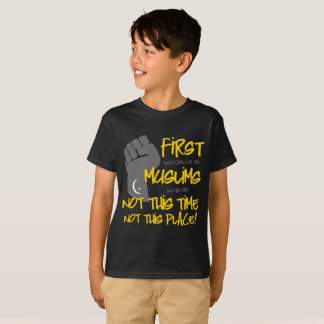 Not This Place Boy's Dark T-Shirt