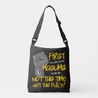 Not This Place Dark Sling Bag