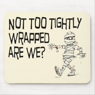 Not tightly wrapped mousepad