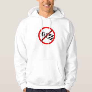 NOT TO CHEMTRAILS STOP CHEMTRAILS HOODIE