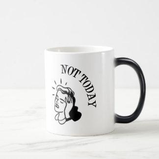 Not Today - Retro Lady With Headache Coffee Mug