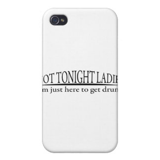 Not Tonight Ladies Case For iPhone 4