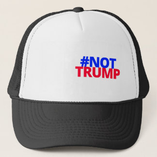 Not Trump - Colour Logo Trucker Hat