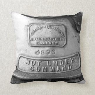 Not Under Command Throw Pillow