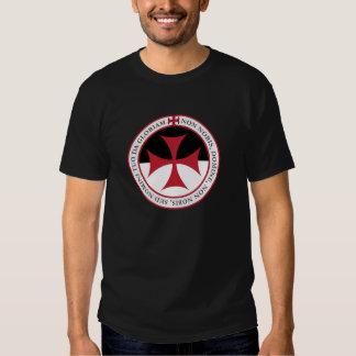 Not Unto Us, O Lord - Templar Cross and Motto Tees