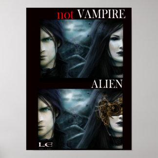 Not Vampire: Alien (poster) Poster