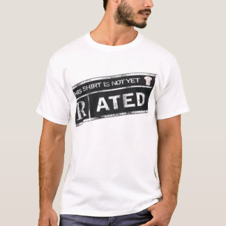 Not Yet Rated Logo Tee