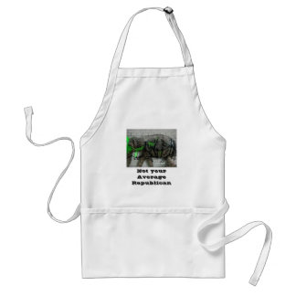 Not your avg Republican Standard Apron