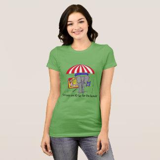 Not Your Entertainment Circus Shirt
