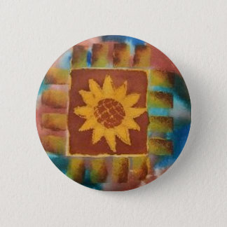 Not Your Granny's Quilt Square 6 Cm Round Badge