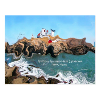 Not Your Normal Nubble Lighthouse Postcard