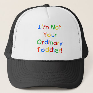 NOT YOUR ORDINARY TRUCKER HAT