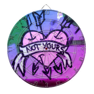 Not Yours Dartboard