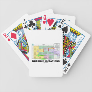Notable Mutations (Genetics Amino Acids) Poker Deck