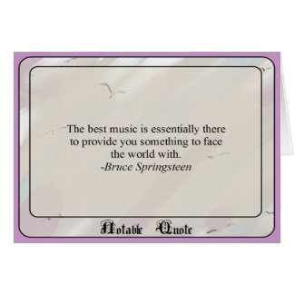 Notable Quote Greeting Card