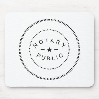 Notary Public Mouse Pad