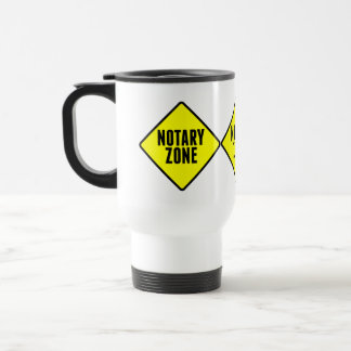 Notary Zone Road Sign Stainless Steel Travel Mug