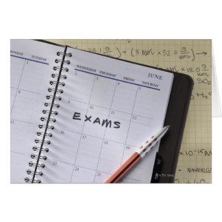 Notation in Calendar Card