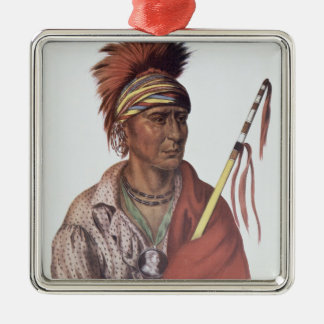 Notchimine or No Heart, an Iowa Chief Christmas Ornament