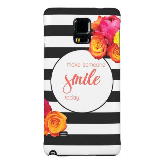 Note 4 Case - Make Someone Smile Today Galaxy Note 4 Case