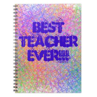 Note Book Best Teacher Ever