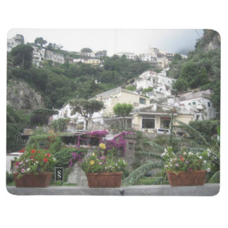 Note Book With Amalfi Coast Pictures