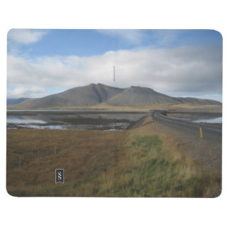 Note Book With Icelandic Scenery Pictures
