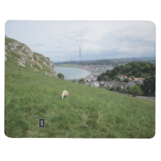 Note Book With Llandudno (Wales) on Cover