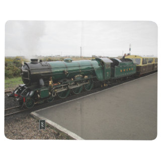 Note Book With Steam and Diesel Train Pictures
