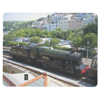 Note Book With Steam Train Picture (Lydham Manor)