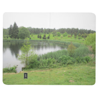 Note Book With Tranquil Lake Scene Cover