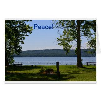 Note card  Alabama Lake