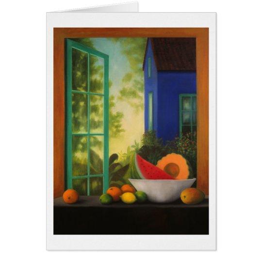 "Note Card:  ""Casa Azul"" Card"