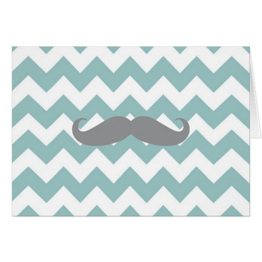 Note Card - Chevron Thank You Note