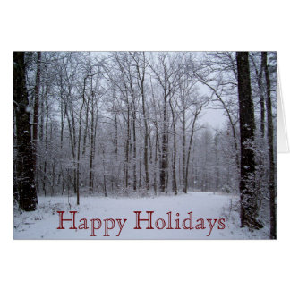 Note Card - Happy Holidays