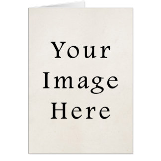Note Card Personalized 4x5.6 Vertical Cards Blank