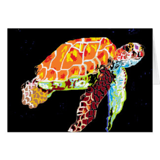 Note Card Sea Turtle