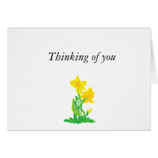 Note Card : Thinking of You