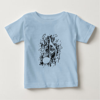 Note Explosion Baby T-Shirt