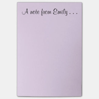 Note From Emily