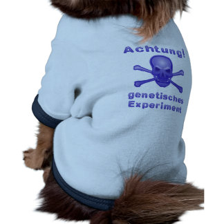 Note! Genetic experiment Dog Tshirt