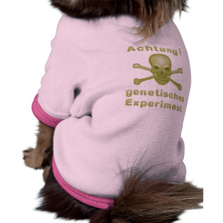 Note! Genetic experiment Pet Clothes
